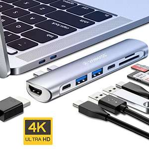 Vanmass USB-C 7 in 1 Hub, USB-C Adapter