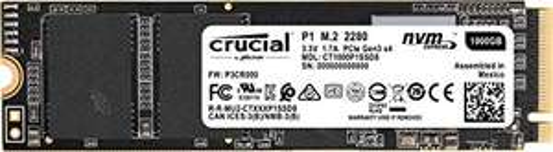 Crucial P1 SSD 1TB, M.2