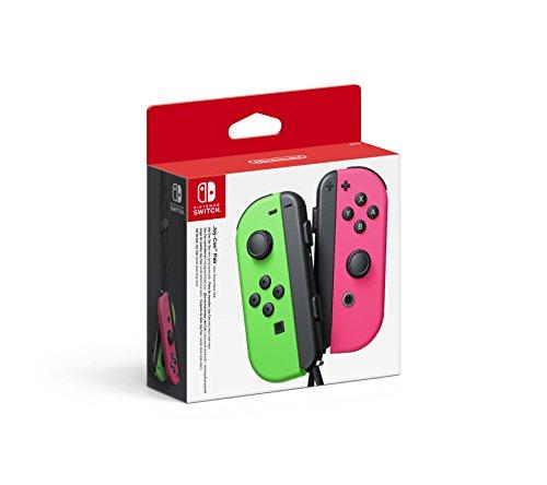 Nintendo Joy-Con Controller neon grün/neon rosa