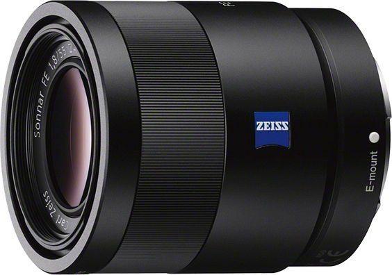 Sony FE 55mm 1.8 ZA Objektiv (SEL-55F18Z)