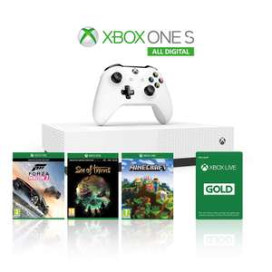 Xbox One S (1TB) + Forza 3 + Minecraft + Sea of Thieves