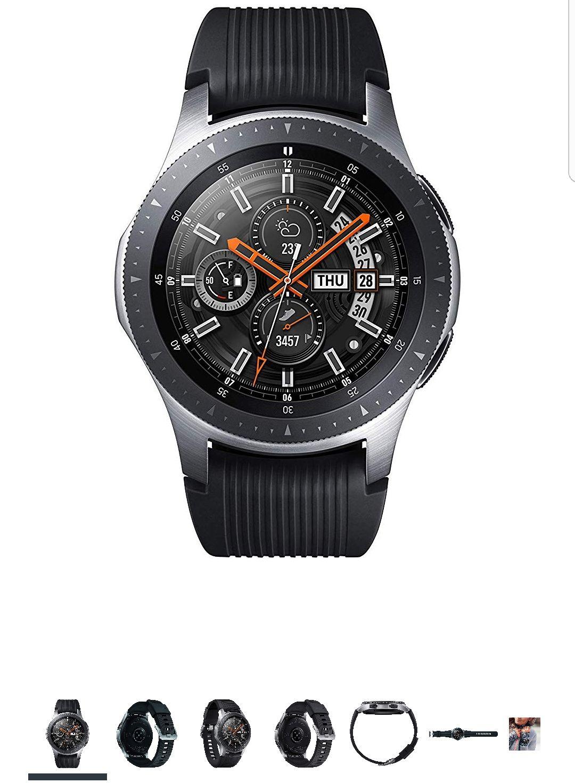 [Amazon]Samsung Galaxy Watch 46mm Bluetooth Silber
