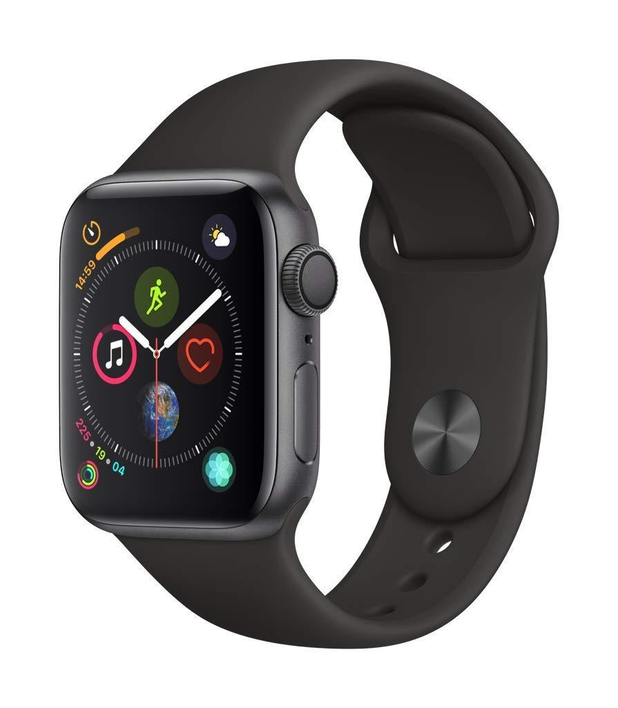 [Amazon.it] Apple Watch Series 4 / 40 mm / Spacegrau / GPS für 359,74 Euro