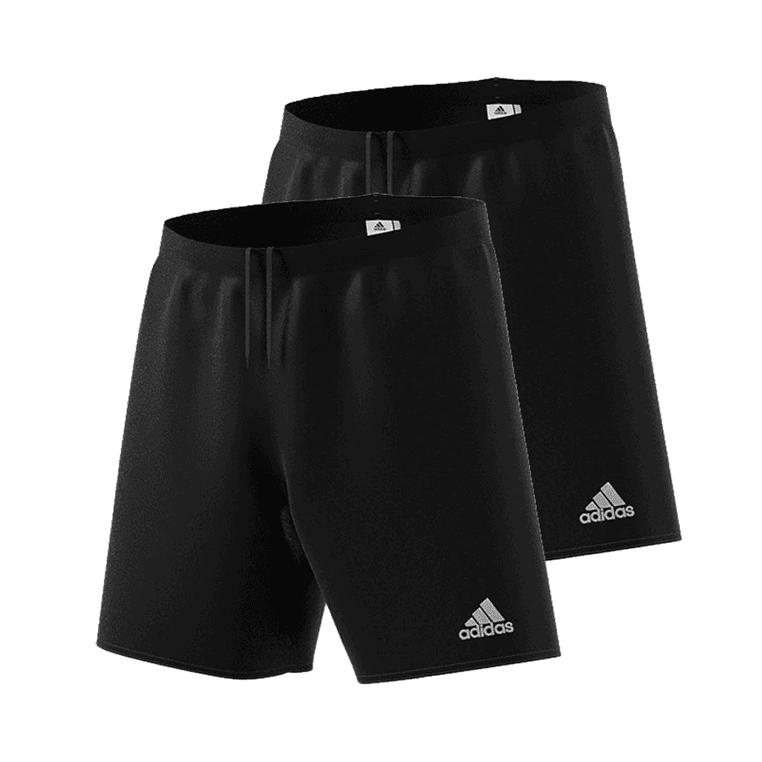 adidas Short Parma 2er Pack in schwarz / dunkelblau / blau / weiß / rot / grün