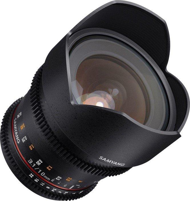 Samyang 10mm T3.1 ED AS NCS CS II VDSLR für Micro-Four-Thirds