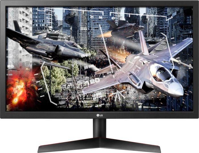 "LG Electronics UltraGear 24GL600F-B, 23.6"" Monitor (1920x1080px, 144Hz, Free-Sync, 1ms)"