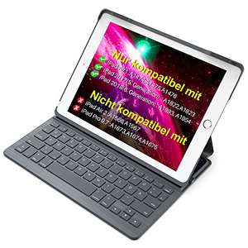 Inateck Tastatur/Hülle für Ipad 2018 & 2017 und iPad Air 1
