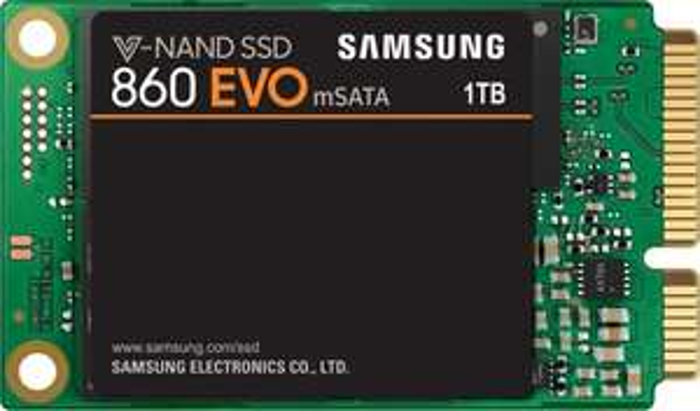Samsung SSD 860 EVO 1 TB mSATA Interne SATA SSD bis zu 550 MB/s
