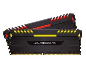 Corsair Vengeance, 32GB DDR4 3000MHz Ram mit RGB Beleuchtung