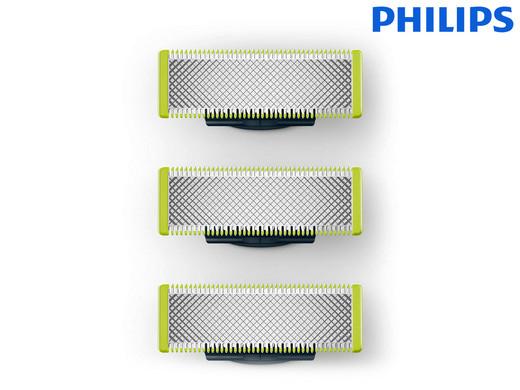 3 Ersatzklingen für Philips OneBlade Rasierer