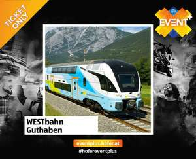 [HOFER] Westbahn Guthaben um 25€ statt 30€ auch auf Aktionsticket anwendbar