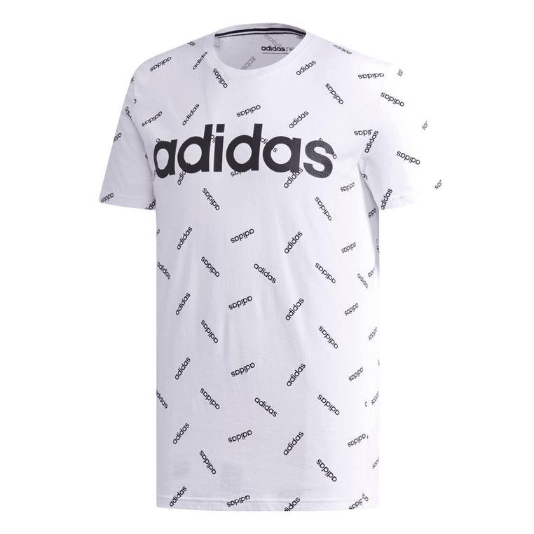 adidas Shirt Graphic Tee weiß/schwarz S bis XXL