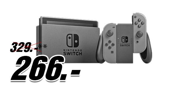 MediaMarkt - Nintendo Switch für 256,- / Galaxy S8+ für 333,- uvm.