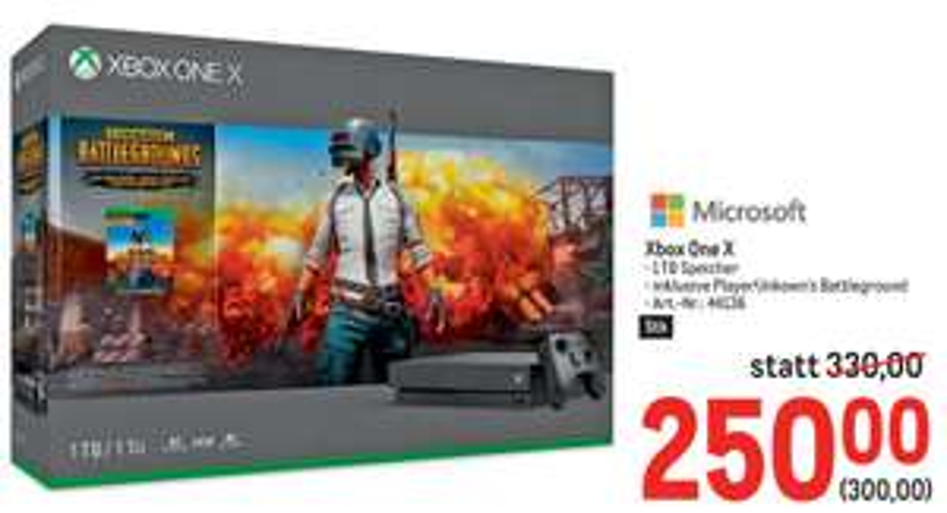[Metro] Xbox One X - 1TB inkl. Playerunknown's Battlegrounds