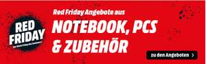 [Sammeldeal Red Friday - Mediamarkt.at] Computer Zubehör (Gaming, NAS, Graphic Tablet,Netzwerk)