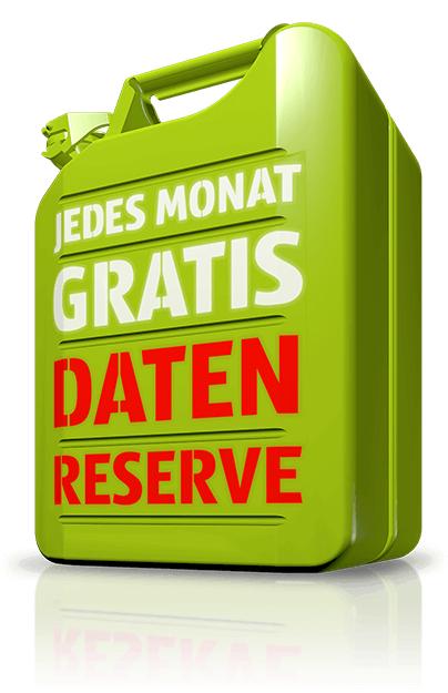 HOT - Datenreserve: jedes Monat zusätzlich 3GB bzw 5GB kostenlos