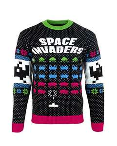 Space Invaders Xmas Pullover - Size M