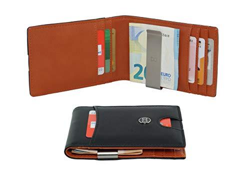 RFID Geldklammer mit 7 Kartenfächern