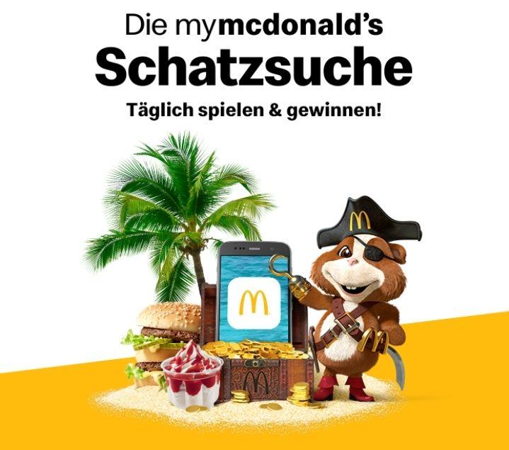 My McDonalds Schatzsuche