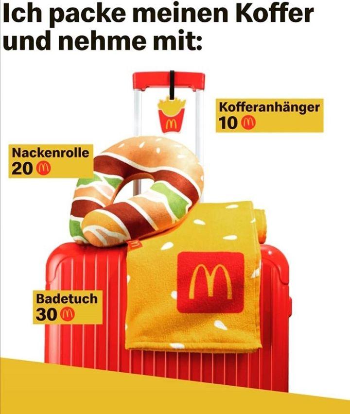 Neue Sommer-Prämien McDonald's