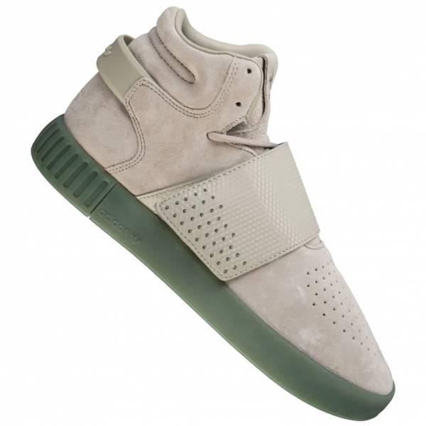 adidas Originals Tubular Invader Strap Leder Sneaker BY3635