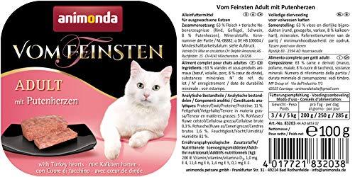 www.AMAZOn.de l Diveseres Sorten siehe Liste l 32 Stück Animonda Katzenfuter vom Feinsten Coupon + Spar Abo bis zu € 10,37