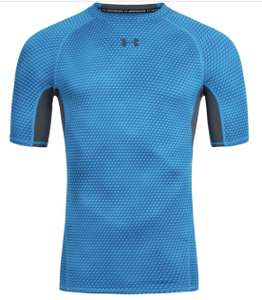 Under Armour HeatGear Herren Compression Shirt Blau / S - XL