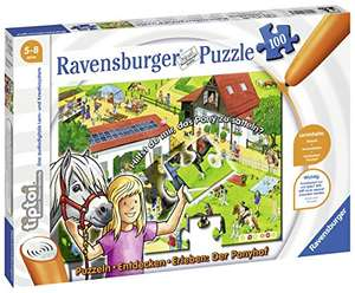 Preisjäger Junior: Ravensburger tiptoi-Puzzle: Ponyhof