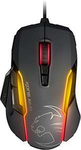 Roccat Kone AIMO Gaming Maus (hohe Präzision, optischer Owl-Eye Sensor, RGB)
