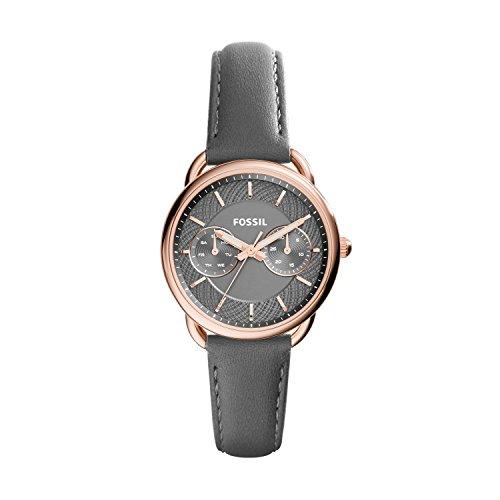 Fossil Tailor Damen-Uhr mit Lederband