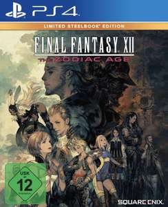 Final Fantasy XII The Zodiac Age - Limited Steelbook Edition PS4