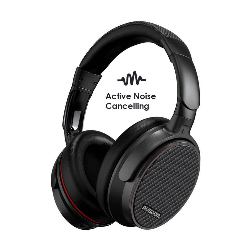 AUSDOM M06 Bluetooth Kopfhörer mit Mikrofon - 20 Stunden Spielzeit