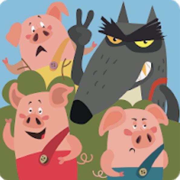 Drei kleine Schweinchen im Google Playstore