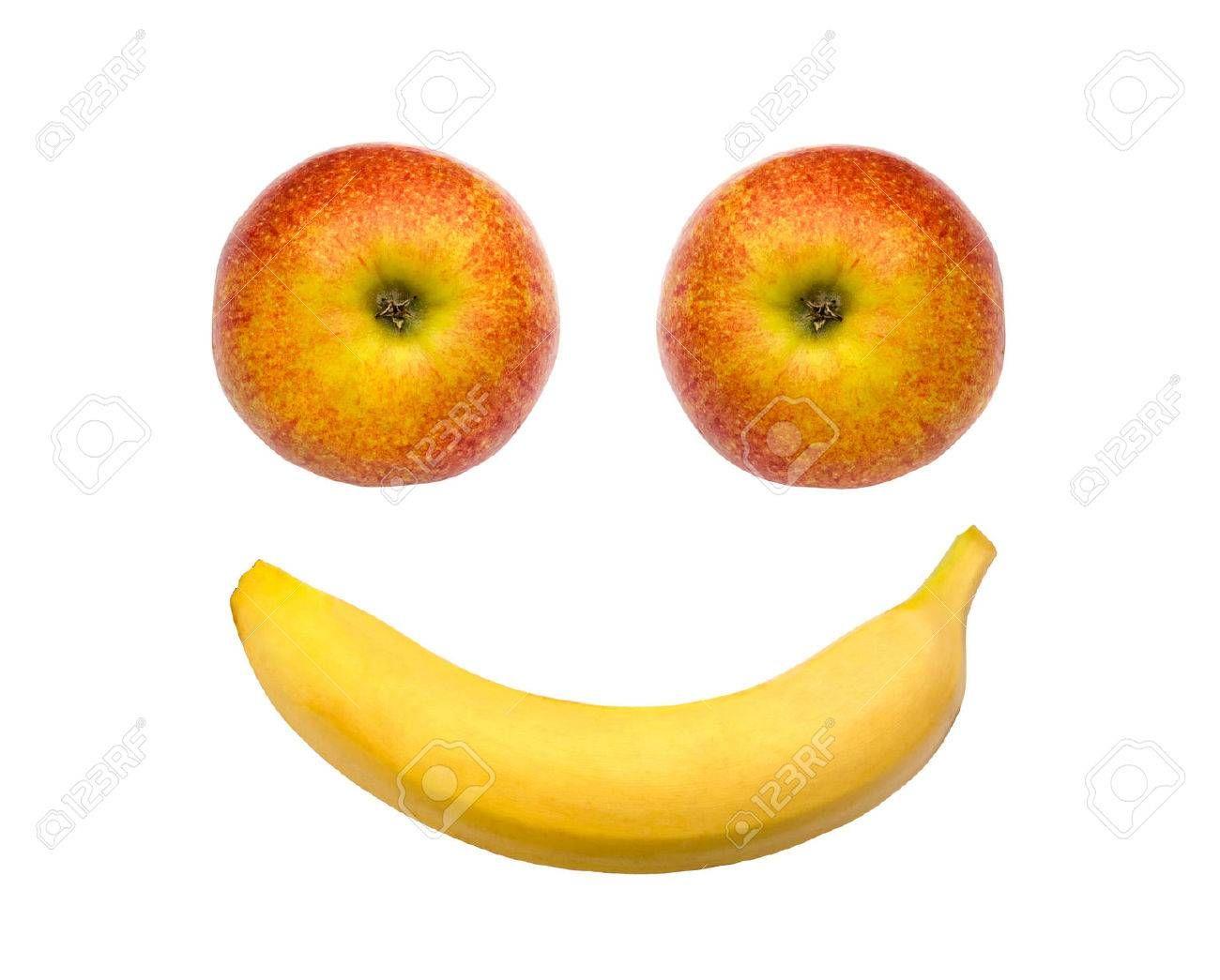 Äpfel und Fairtrade Bio-Bananen