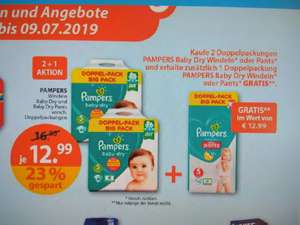 LOKAL -  Pampers Aktion bei Müller