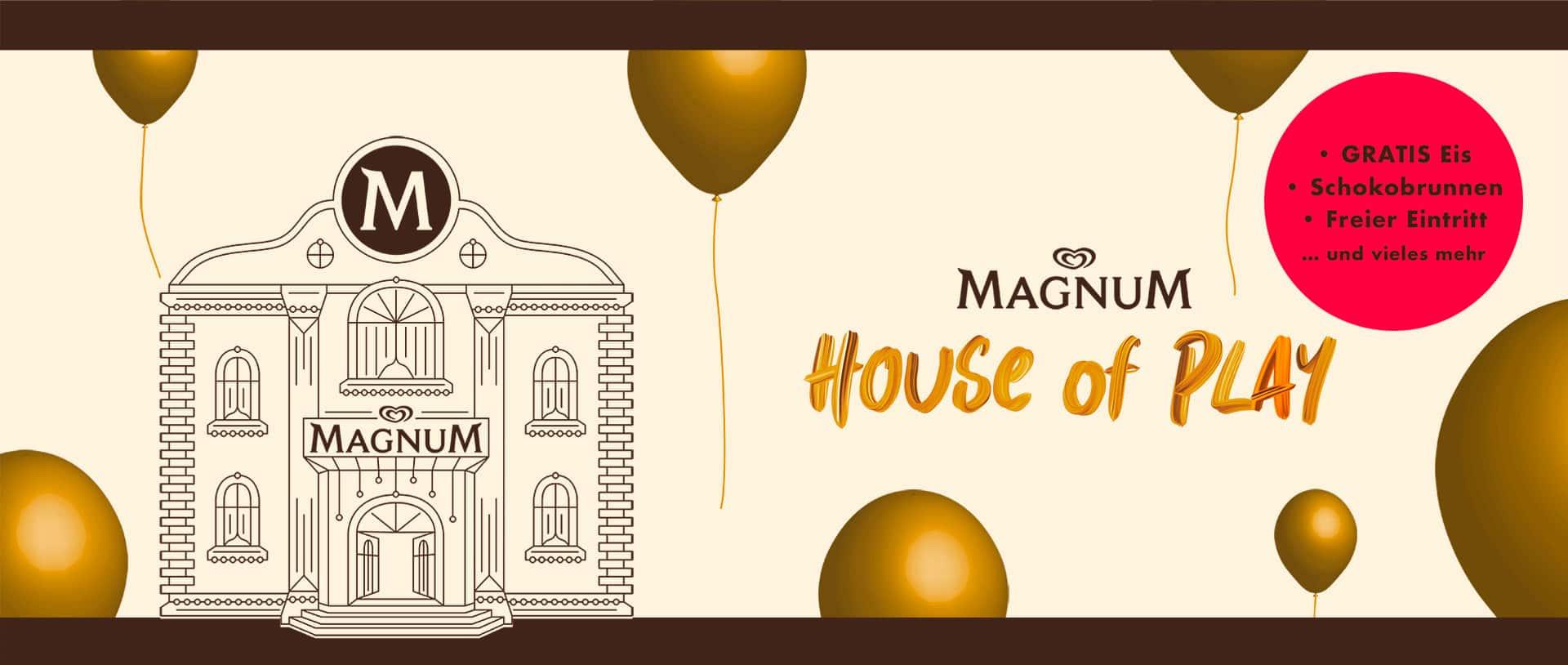 Gratis Eis im Magnum House of Play