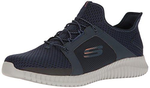 Skechers Elite Flex Slip On Sneaker, Blau