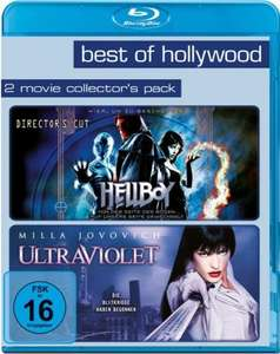 Hellboy & Ultraviolet als Blu-ray
