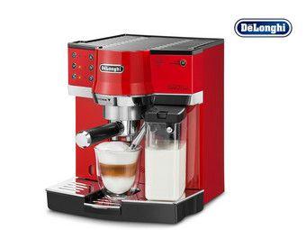 DeLonghi Espresso-Maschine EC860.R für gemahlenen Kaffee oder Pads