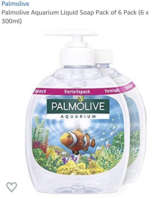 Palmolive Aquarium Flüssigseife 6 x 300 ml