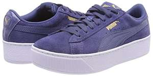"Puma Damen ""Vikky Platform"" Wild-Leder Sneakers"