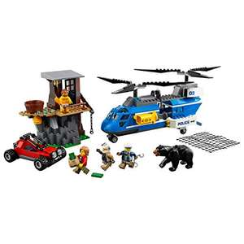 LEGO 60173 - Verhaftung in den Bergen - Top Minifigur.