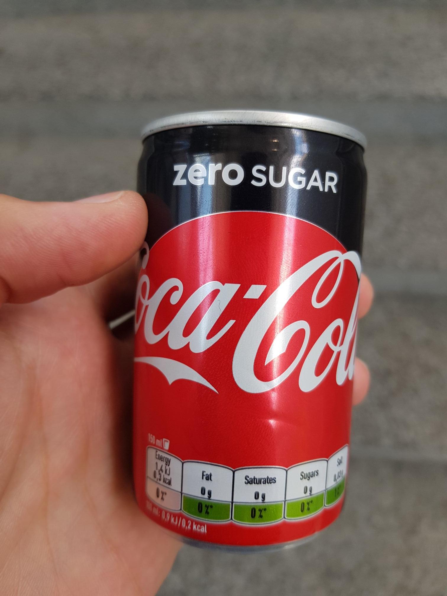 Gratis Cola Zero Hauptbahnhof Salzburg