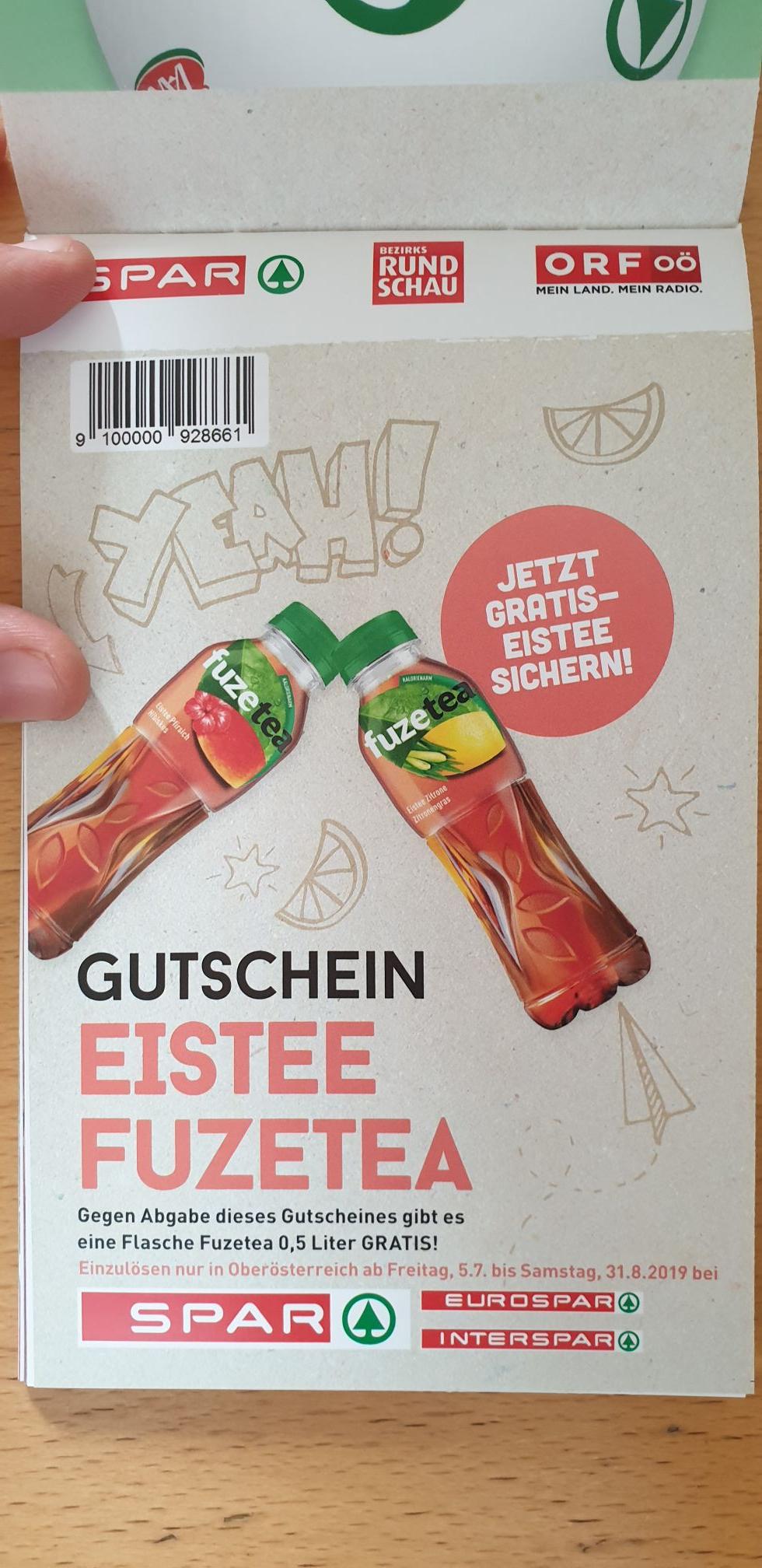 *GRATIS* Fuzetea bei spar :) - Nur in Oberösterreich