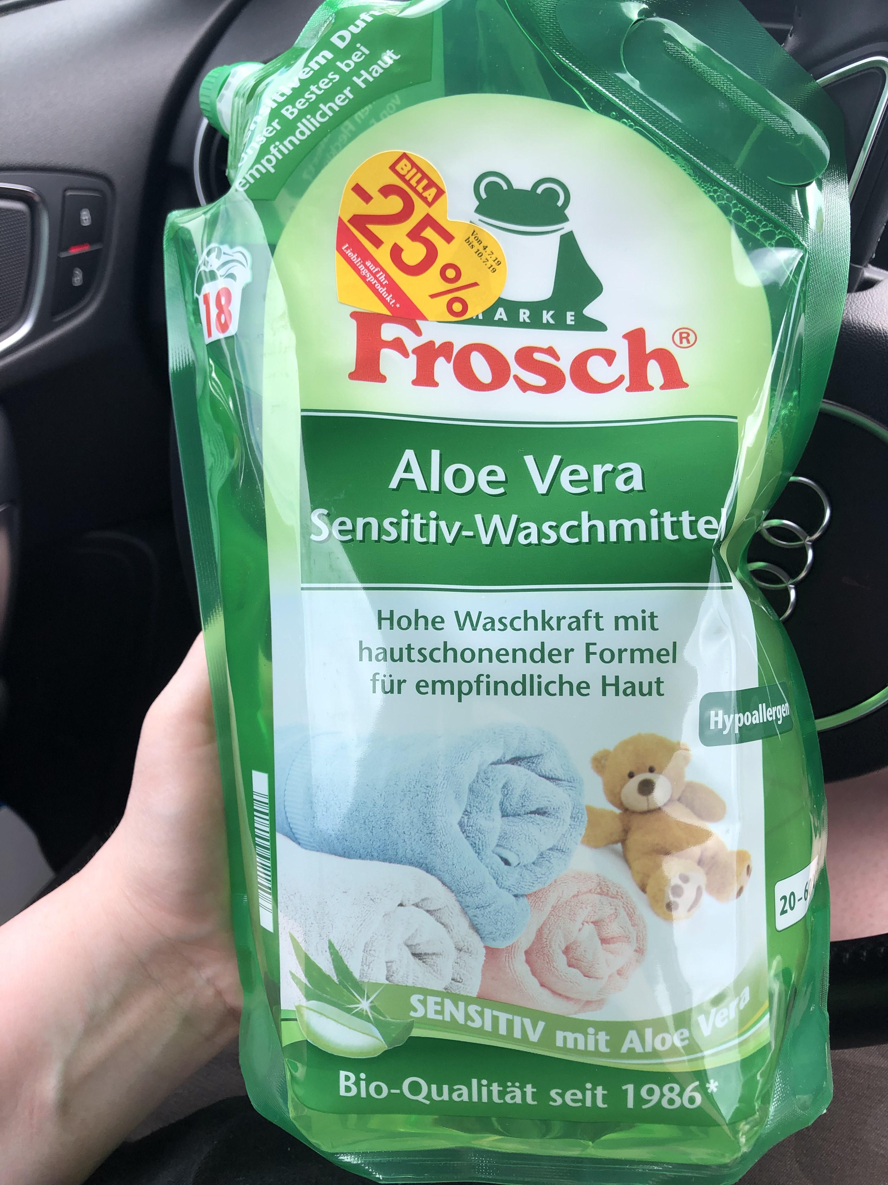 Frosch Waschmittel Aloe Vera