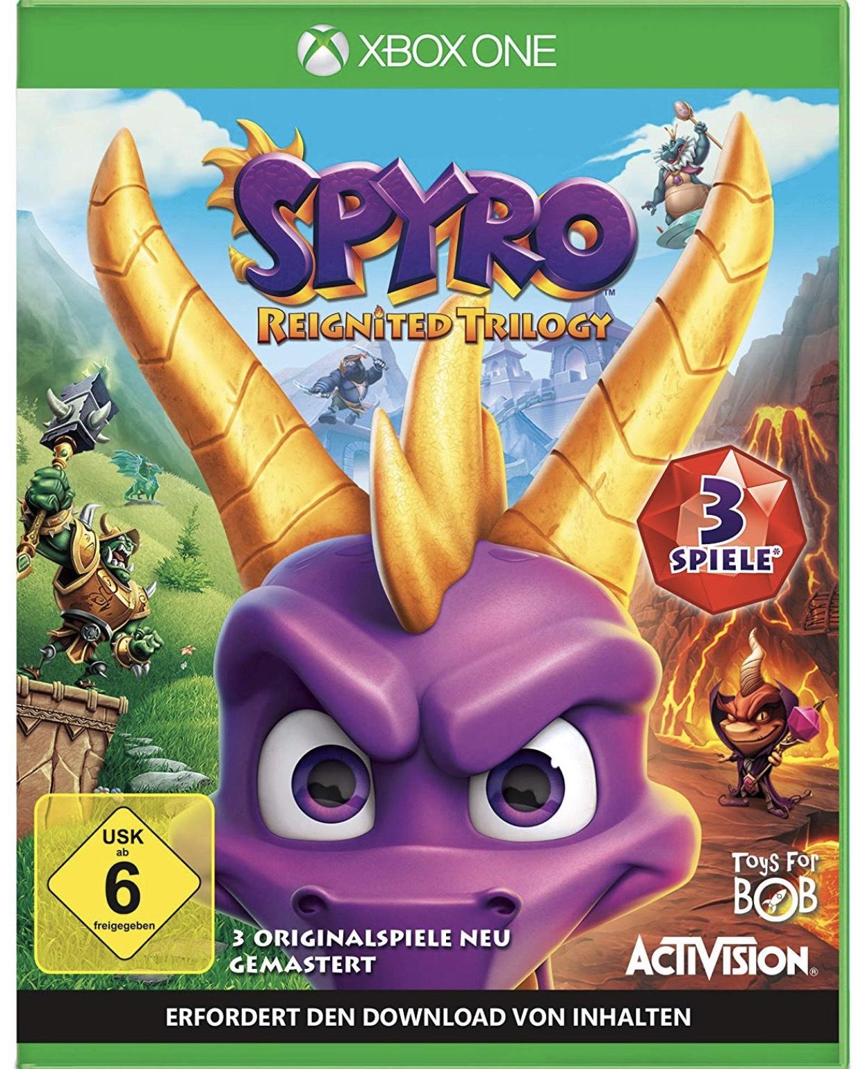 Spyro Reignited Trilogy für Xbox One