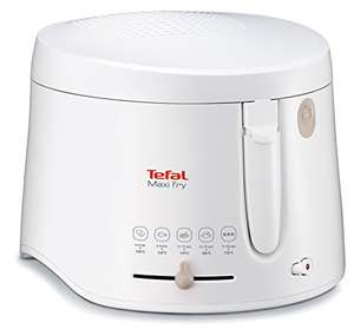 Tefal Maxi Fry FF1000 Fritteuse (1900 Watt, regelbare Temperatur, wärmeisoliert, 1 kg Fassungsvermögen)