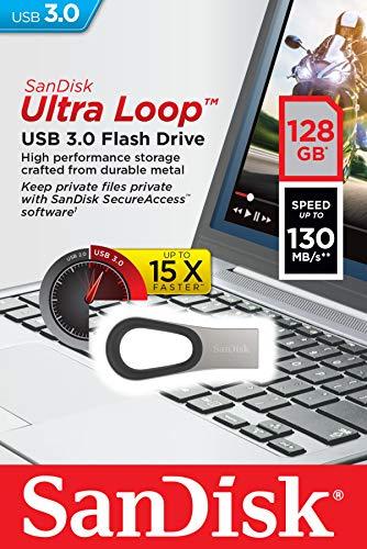 SanDisk Ultra Loop USB 3.0 Flash Drive 128GB