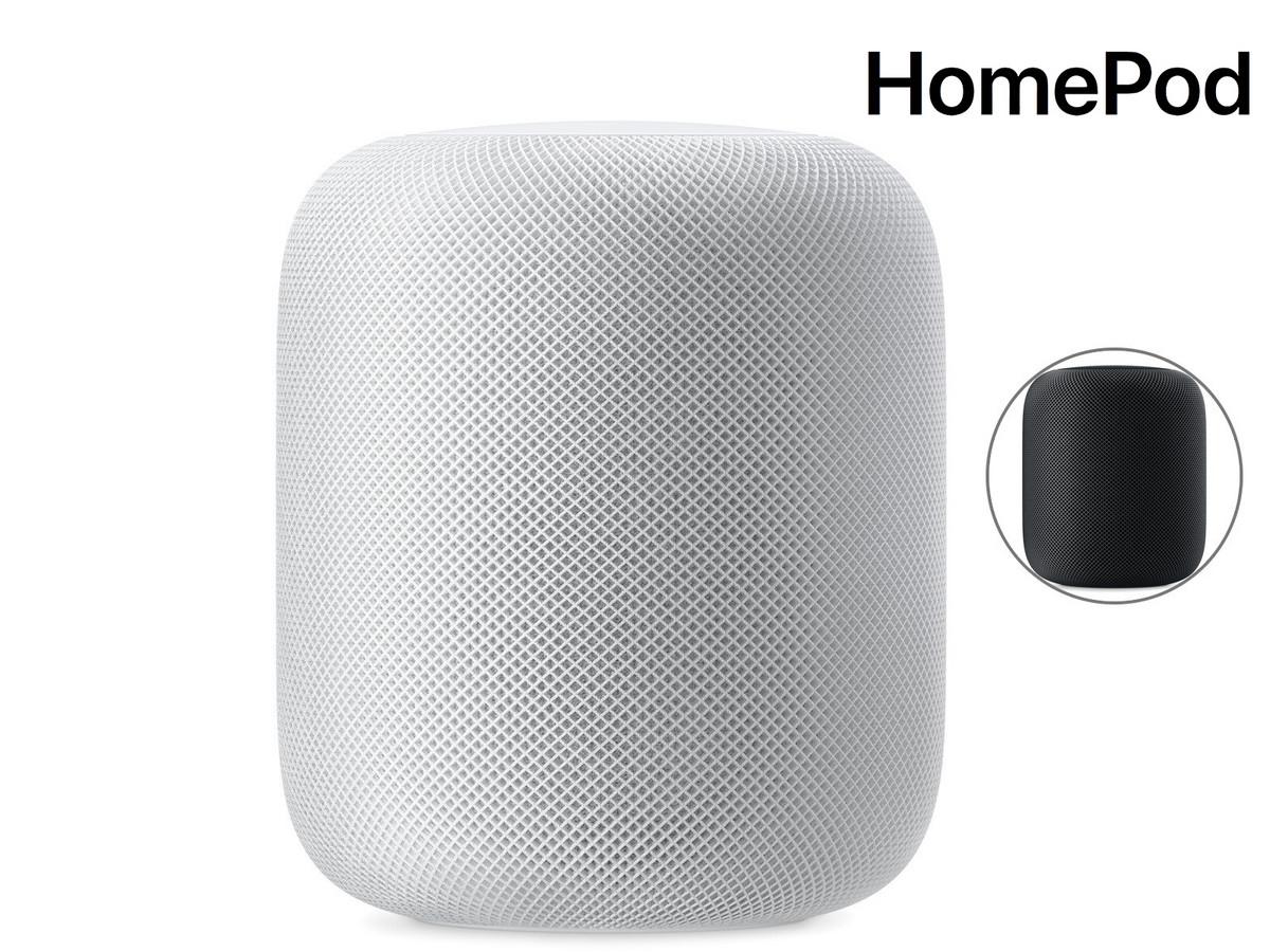 Apple HomePod Lautsprecher (Refurbished) - schwarz oder weiß