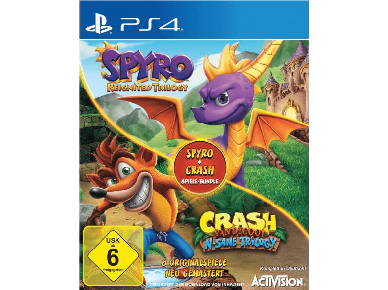 Spyro + Crash Remastered Spiele-Bundle (PlayStation 4)